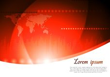 Bright technology vector background Royalty Free Stock Image