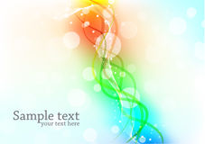 Bright template Stock Images