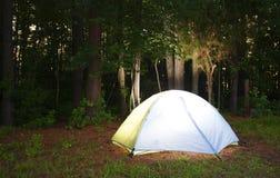 Bright tent Stock Image