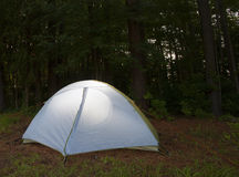 Bright tent Stock Images