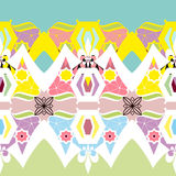Bright textile seamless pattern background Royalty Free Stock Image