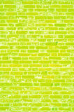 Bright texture, brick wall. Tall fence, rectangular shape, very old with bleached cement, well-lit sun, vertical Royalty Free Stock Images