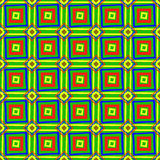 Bright texture of colorful squares Stock Photos