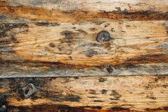 Bright texture of old wooden table boards royalty free stock image