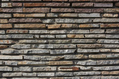 Bright texture from stone masonry Stock Photos