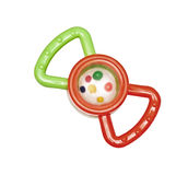 Bright toys for teething Royalty Free Stock Photo