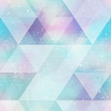 Bright triangle seamless pattern Royalty Free Stock Photo