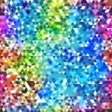 Bright triangle seamless texture Royalty Free Stock Photos
