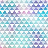 Bright triangles. Seamless pattern Stock Photo