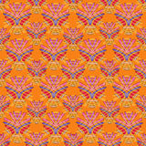 Bright tribal seamless pattern. Vector background. Bright tribal seamless pattern. African style Royalty Free Stock Photo