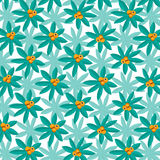 Bright Tropical Plant Pattern with Citrus Fruit. Bright Tropical Plant Pattern with orange citrus fruit Royalty Free Stock Image