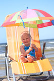 Bright umbrella Royalty Free Stock Photo