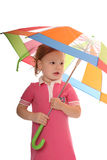 Bright umbrella Royalty Free Stock Photos