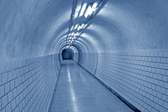 Bright underground passage Royalty Free Stock Image