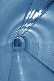 Bright underground passage Stock Image