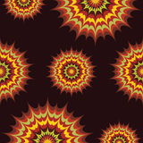 Bright and unusual pattern Royalty Free Stock Images