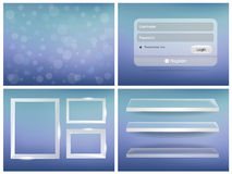 Bright User Interface Stock Photography