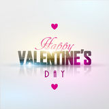 Bright Valentine`s day background Stock Photos