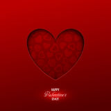 Bright Valentine`s day background Royalty Free Stock Photos