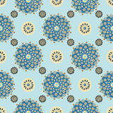 Bright Varicolored seamless pattern background. Stock Photos