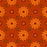 Bright Varicolored seamless pattern background. Royalty Free Stock Photography