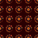 Bright Varicolored seamless pattern background. Royalty Free Stock Image
