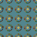 Bright Varicolored seamless pattern background. Royalty Free Stock Photo