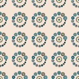 Bright Varicolored seamless pattern background. Stock Image