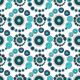 Bright Varicolored seamless pattern white background. Stock Images