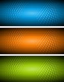 Bright vector banners Stock Photos