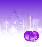 Bright vector Christmas background Royalty Free Stock Photography