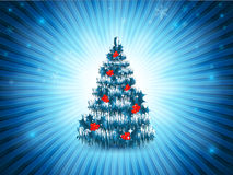 Bright vector Christmas frame. Eps10 Stock Images