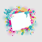 Bright vector collage Stock Photo