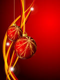 Bright vector Cristmas frame. Eps10 Stock Photo