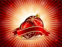 Bright vector Cristmas frame. Eps10 Stock Photography