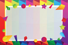 Bright vector frame Royalty Free Stock Photography