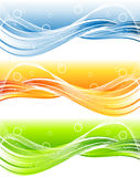 Bright vector header Stock Image