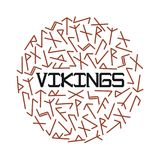 Bright vector illustration for vikings with runes. Bright vector illustration for vikings with runes on the white background Royalty Free Stock Photo