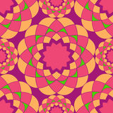Bright vector mosaic seamless pattern. Abstract background. Stock Photography