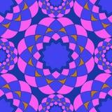 Bright vector mosaic seamless pattern Royalty Free Stock Photos