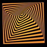Bright vector optical illusion Royalty Free Stock Photos