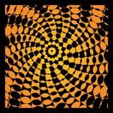 Bright vector optical illusion Stock Photos