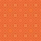 Bright vector orange seamless pattern Stock Image