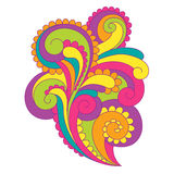 Bright vector ornament Royalty Free Stock Images