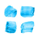 Bright vector stains Royalty Free Stock Photo