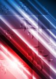 Bright vector technical background with arrows Stock Photography