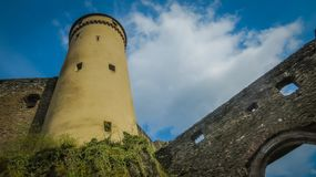 Vianden castle stock images