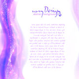 Bright violet background with disco lights. Bright violet backdrop with disco lights leaflet vector background Royalty Free Stock Photo