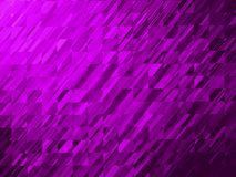 Bright violet geometric fractal background with gradient colors royalty free stock photography