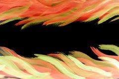 Bright vivid frame decoration multicolor vitality background. Illustration Stock Image